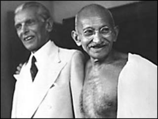 موہن داس گاندھی اور محمد علی جناح