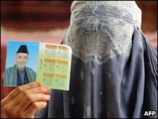 Mulher afegã (arquivo)