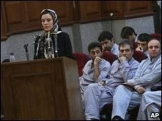 Reiss durante seu julgamento no dia 8 de agosto