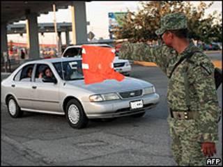 Frontera de México con Estados Unidos en Ciudad Juárez.