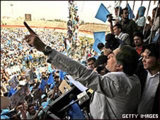 Último comício de Abdullah Abdullah em Cabul