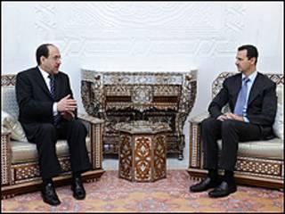 اتهم العراق والولايات المتحدة مرارا دمشق بالسماح لمقاتلين اسلاميين بالتسلل الى العراق