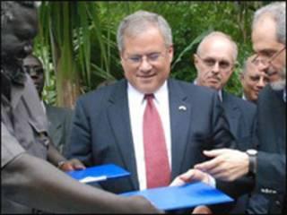امضای تفاهم نامه در سودان