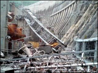 انفجار در نیروگاه سایانو- شوشسکایا