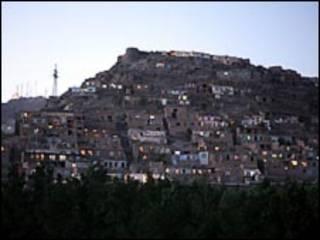 نمایی از شهر کابل