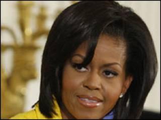 A primeira-dama dos EUA, Michelle Obama. Foto AP/ Ron Edmonds