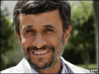 Presidente iraní, Mahmourd Ahmadinejad