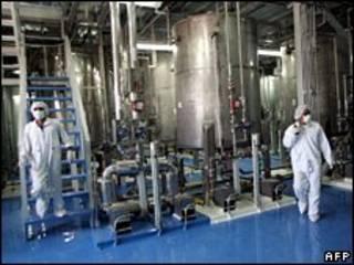 На ядерном объекте в Иране