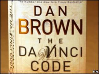 """Portada del libro """"El Código Da Vinci"""""""