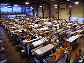 Prisión de California. Foto de archivo