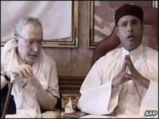 سيف الاسلام والمقرحي