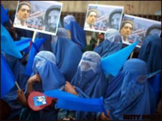 ناخبات افغانيات