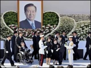 Đám tang ông Kim Dae-jung