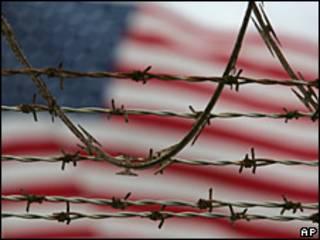 Alambre de espino en Guantánamo