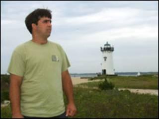 Maurício Brandão mora na ilha há 10 anos