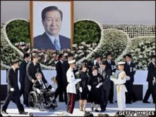 Funeral de Kim Dae-jung