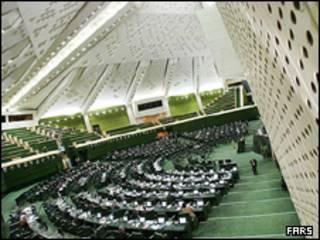 تصویری از مجلس ایران