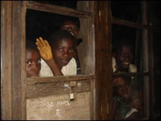 Niños en República Democrática del Congo