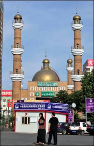 مسجد في اورومتشي