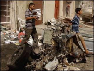 مظاهر العنف في العراق