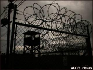 Prisão americana na baía de Guantánamo, em Cuba (Getty Images)