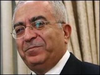 سلام فياض رئيس الوزراء الفلسطيني