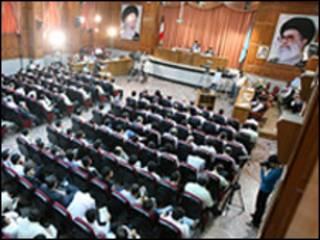 جلسه دادگاه دستجمعی - عکس از فارس