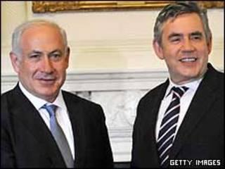 براون و نتانیاهو