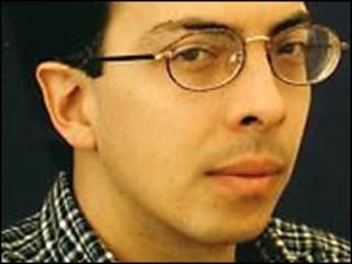 Jorge Volpi. Foto tomada del blog del escritor: www.elboomeran.com/blog/12/jorge-volpi/