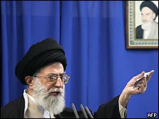 Ali Jamenei, líder supremo de Irán.