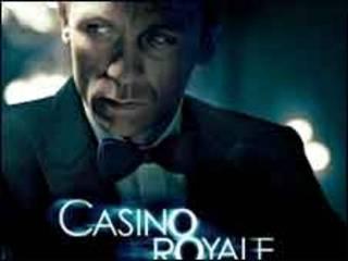 """007电影""""皇家赌场""""海报"""