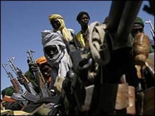 مسلحون من حركة تحرير السودان