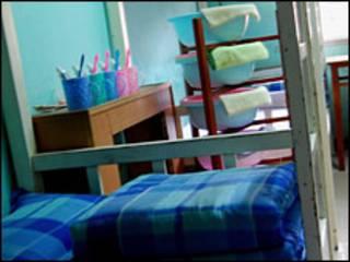 Một phòng trong trại cai nghiện