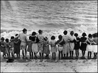Niños republicanos exiliados.