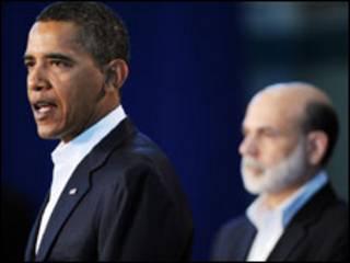 اوباما وبرناركي