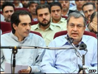 سعید شریعتی و سعید حجاریان در دادگاه