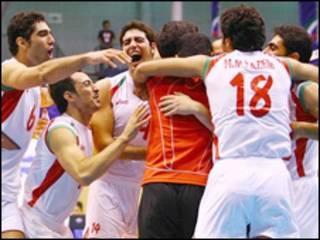 والیبال ایران - کره جنوبی - منبع: سایت رسمی بازی ها