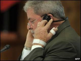 Lula em encontro prévio da Unasul