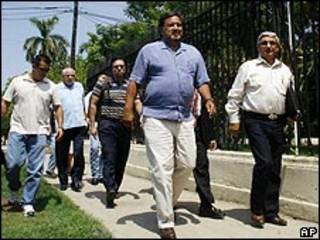 Bill Richardson en La Habana.