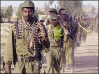 جنود اثيوبيون