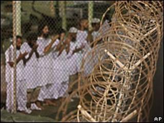 Centro de detención de Guantánamo. Imagen de archivo.