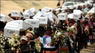 Funeral en Putis, Perú.