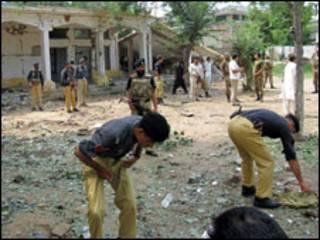 مركز تدريب أمني في باكستان