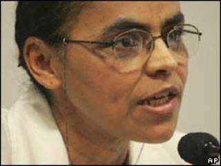 A senadora Marina Silva