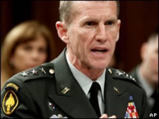 El general Stanley McChrystal