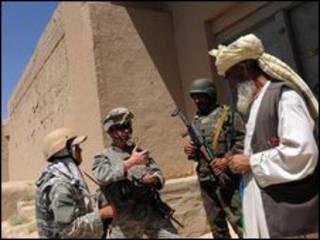 Lính nước ngoài tại Afghanistan