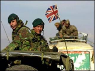Афғонистондаги Британия аскарлари