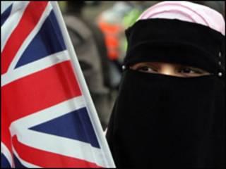 एक ब्रितानी मुस्लिम युवती
