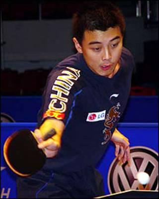 Wang Hao (foto: cortesia da Federação Internacional de Tênis de Mesa)