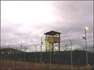O centro de detenção de Guantánamo Bay